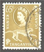 Kenya, Uganda and Tanganyika Scott 128 Used